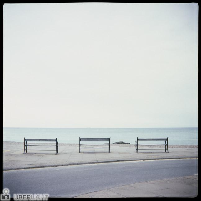 Agfa Click 2, camera review, beach in Denmark, analogue photography