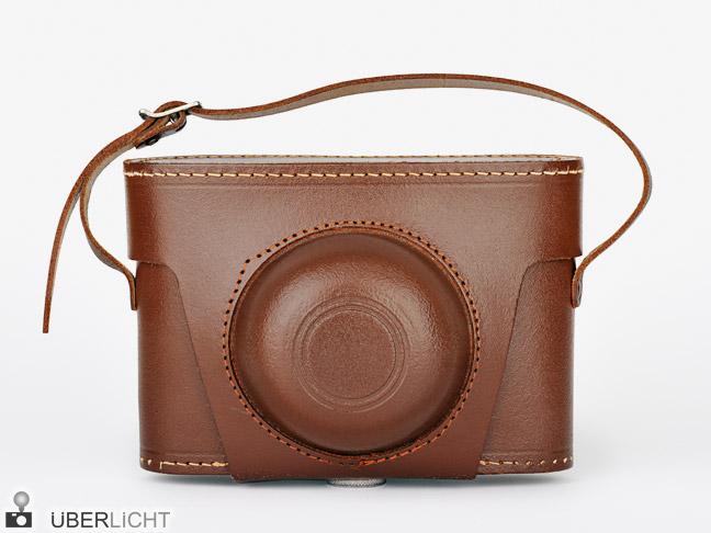 Agfa Click II leather case, medium format camera 1950-1970 nostalgia