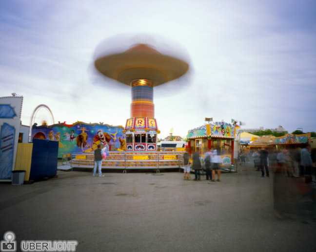 Harman Titan Ilford Pinhole Photography Kit Spring Festival Munich Chairoplane